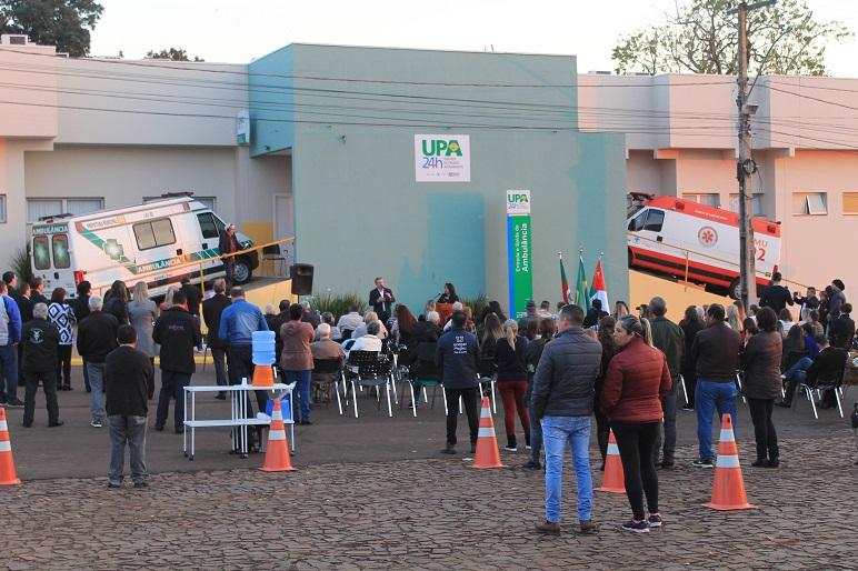 Upa é Inaugurada Em Ijuí Atendimento Inicia Nesta Sábado